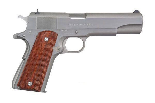Colt Government Brushed Stainless Steel