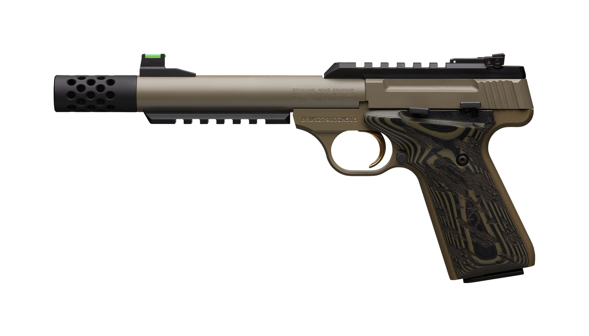 Buck Mark Plus Cerakte FDE