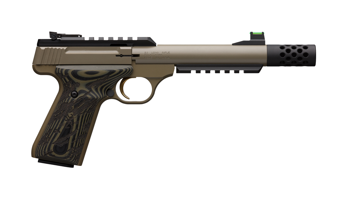 Browning Buck Mark Plus Cerakte FDE
