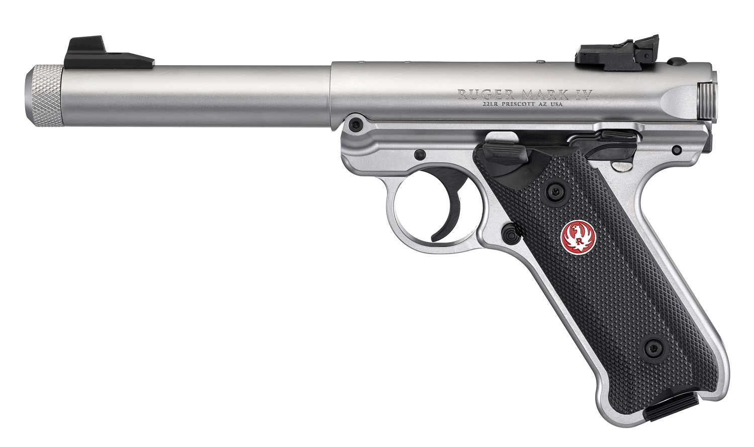 Ruger Mark 4 Target Stainless threaded