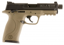 M&P22 Compact Cerakote FDE Threaded